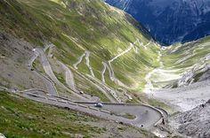 Wow! What a climb (Passo dello Stelvio (via the Bormio side))! Giro d'Italia 2012! Coming in May...