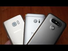 اليكم المراجعة القوية بين الهواتف الثلاثة HTC 10 vs. LG G5 vs. Samsung Galaxy S7