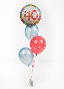 Shop for balloons for any party on Ireland's first ever click & collect online balloon shop. 40th Birthday Balloons, 40th Birthday Parties, Balloon Shop, Balloon Arrangements, Balloon Bouquet, Christmas Bulbs, Create, Holiday Decor, Party