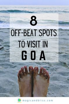 Finally Bored of the Baga/Calingute Beach and Party Scene in Goa? Do not miss these off beat places to visit in Goa to quench your wanderlust needs. Read this blog to guide you to get off-beat travel ideas for Goa and plan your next Goa travel itinerary. You will learn what do do in Goa and plan an off the beaten track adventure holiday. | Future Travel Inspiration | India Travel | Best Nature Travel Destinations | #goa #goatravel #india #indiatravel #offbeattravel Goa Travel, India Travel Guide, Wanderlust Travel, Travel Destinations, Travel Abroad, Scarborough England, Travel Guides, Travel Tips, Adventure Holiday