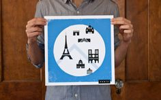I really do love these prints, gotta have them. Express my love of travel. How about Paris, London, Madrid, and Rome.