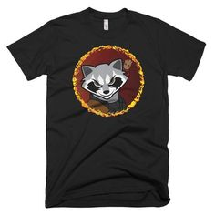 Rocket Raccoon with Baby Groot Shirt - Those A-Holes are Back – Third Jersey Apparel Baby Groot Shirt, Galaxy Shirts, Rocket Raccoon, American Comics, Third, Mens Tops, Netflix, Stars, Fashion