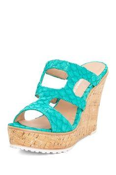 Kaitlyn would love these!!! Lisa by Donald J Pliner Kloe Wedge Sandal