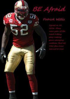 7966b1dfa Patrick Willis Favorite Player Nfl 49ers