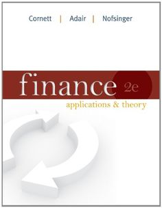 Finance: Applications and Theory (Mcgraw-Hill/Irwin « LibraryUserGroup.com – The Library of Library User Group