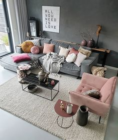 42 Very Cozy and Practical Decoration Ideas for Small Living Room Isabellestyle . - Home Design Living Room Grey, Living Room Furniture, Living Room Decor, Bedroom Decor, Cute Living Room, Interior Design Living Room, Living Room Designs, Cheap Home Decor, Diy Home Decor