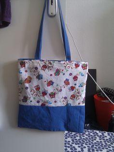 Selbstgenäht als Geburtstagsgeschenk für eine Freundin. #diy #sewing #beutel