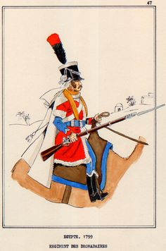 French; Dromedary Regiment, Egypt, 1800