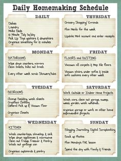 Daily+Homemaking+Schedule.jpg 1,206×1,600 pixels