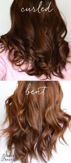 Loose curls versus bent #hair: What you need to get the looks!