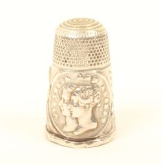 Silver Thimble Commemorating the Wedding of Queen Victoria