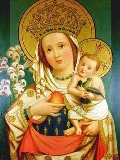 An Austrian Madonna and Child.