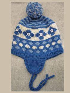 cf515dfdeb2 Cascading Snowflake Easy Knitting Pattern-Women s Hat Pattern