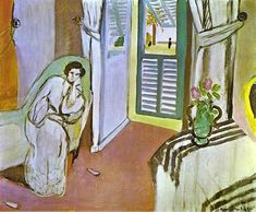 Artwork by Henri Matisse, Woman on a Sofa, Made of Oil on canvas