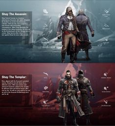 Shay Patrick Cormac,Templar and Assassin