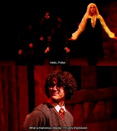 A Very Potter Sequel ~ I really love that Lucius Malfoy Harry Potter Musical, Harry Potter Universal, Harry Potter Fandom, Harry Potter Memes, A Very Potter Sequel, Lauren Lopez, No Muggles, Avpm, Team Starkid