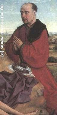 Donor from Pietà by van der Weyden, 1450