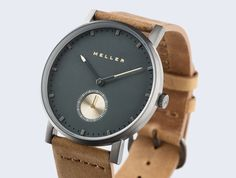 Leather Strap Watch Nag Camel Maori perspective Meller