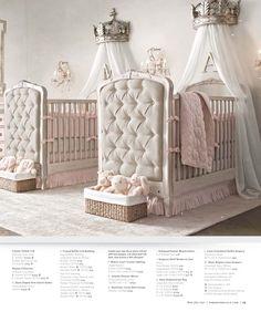2013 Fall Catalog | Restoration Hardware Baby & Child glamour twin nursery!