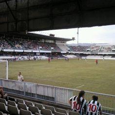 Photo taken at Estadio Municipal Castalia by Maria A. on 9/16/2012