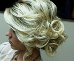 Exactly what I want for my wedding hair