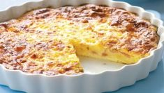 Quiche Lorraine without dough recipe Weight watchers. I propose you a tasty recipe of quiche lorraine without paste, simple and easy to realize. Ww Recipes, Brunch Recipes, Breakfast Recipes, Cooking Recipes, Brunch Food, Simple Quiche Recipes, Breakfast Quiche, Breakfast Casserole, Family Recipes