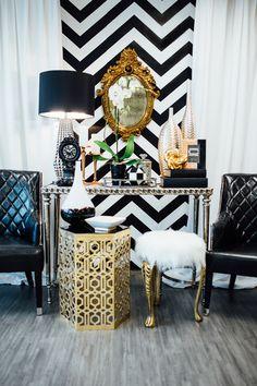 Living room white, living room decor, interior design, gold interior, home Glam Living Room, Living Room White, Living Room Decor, Bedroom Decor, Decor Room, Dining Room, Room Decor For Teen Girls, Elegant Homes, White Decor