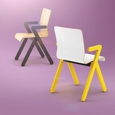 Vi chair on Behance