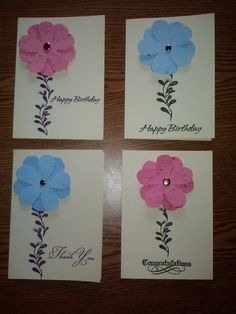 Garden Products - Seed paper Cards