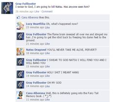 Fairy Tail en Facebook! : Foto