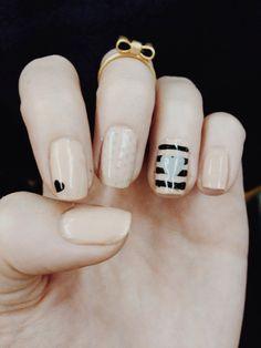 Nail art by Anne!