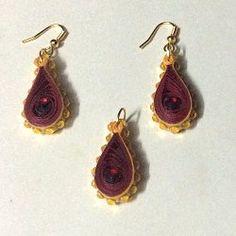 sumarts.biz - Quilling - paper jewellery