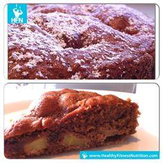 Protein Kuchen selber machen: Einfaches Eiweiß Kuchen Rezept (Schokolade & Nuss). Dieses leckere Whey Kuchen Rezept mit Whey Protein eignet sich für Muskelaufbau.