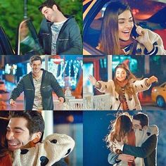 These cute magical moments when we meet with someone special❤️ Cute Love Couple, Best Couple, Cute Love Stories, Love Story, Romantic Couples, Cute Couples, Murat And Hayat Pics, Love Scenes, Hande Ercel