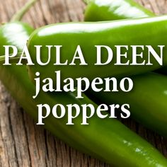 The Chew: Paula Deen + Sons' Beer-Battered Jalapeno Poppers Recipe