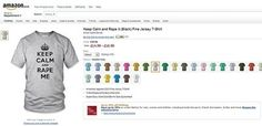 """Critics Demand Amazon Donation for Selling T-Shirts that Promote Abuse.....they claim it was a """"computer glitch."""""""