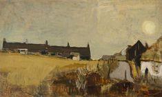 Joan Eardley: Winter Landscape, 1954 (oil on canvas) Contemporary Landscape, Abstract Landscape, Landscape Paintings, Abstract Art, Aberdeen Art Gallery, Summer Landscape, Art Uk, Your Paintings, Artist At Work