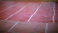 Allbrite's slim line electric ribbon underfloor heating provides total coverage for any room type or size. Electric Underfloor Heating, Underfloor Heating Systems, Types Of Flooring, Ribbon, Slim, Tape, Band, Ribbon Hair Bows, Bows