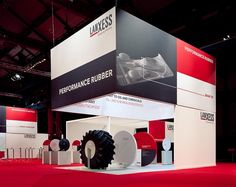 LANXESS Exhibition booth