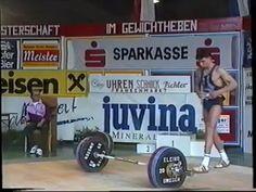 Gewichtheber Staatsmeisterschaft 1994 Kat. Herren 64kg - YouTube