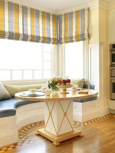 Breakfast Nook for a bay window