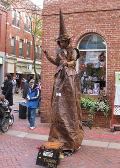 Salem is wonderful in so many ways. Not only is it truly magical with all of its history, mystery and current pagan practices, it has a thriving arts community and the citys calendar is chock full of festivals, concerts and fun. Check it out! Dream Vacations, Vacation Spots, Places To Travel, Places To See, Salem Mass, Living Statue, Salem Witch Trials, Mysterious Places, Community Art
