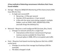 Resource: Proactive Ransomware Defenses and Reactive Incident Response Against Ransomware Infection