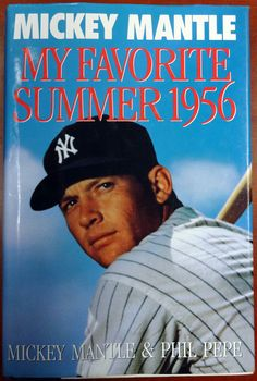 Mickey Mantle Autographed Book PSA/DNA