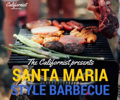 SANTA MARIA STYLE BBQ! Perfect California heritage for your summer nights.  We be grillin'.