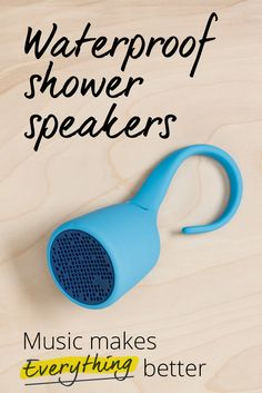 Looking for a speaker you can listen to in the shower? How about one you can take into the shower with you? Or the beach, the pool, the river? We've got you covered.