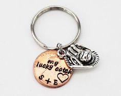 My Lucky Catch Personalized Penny Keychain.  by JewelryImpressions