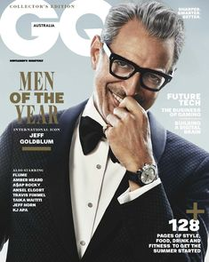 Male Fashion Trends: Jeff Goldblum se convierte en el ícono del año para GQ Australia Men of the Year