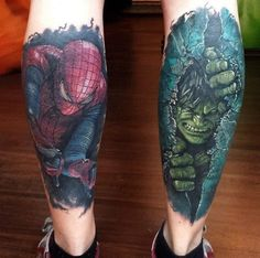 Super Hero Tattoo Photos  #Hero #photos #Super #Tattoo