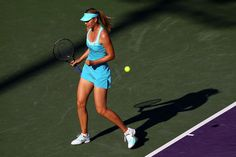Maria Sharapova and Nike Maria Sharapova Cross Court Statement Women's Tennis Dress